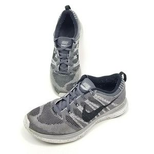 Nike Flyknit One Gray Athletic Sneakers 554887-001